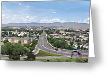Boise From Boise Depot Tower Greeting Card