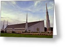 Boise Idaho Lds Temple Greeting Card