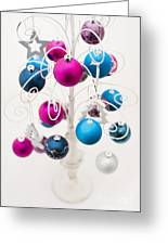 Bold Baubles Greeting Card