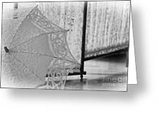 Boldt Castle Umbrella Greeting Card