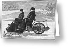 Bollee Carriage, 1898 Greeting Card