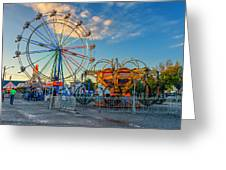 Bolton Fall Fair 4 Greeting Card