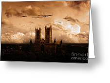 Bomber Country  Greeting Card