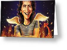 Bon Scott Greeting Card