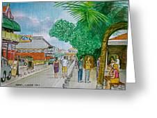Bonaire Street Greeting Card