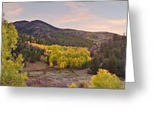 Bonanza Autumn View Greeting Card