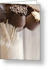 Bonbons Au Chocolat Greeting Card