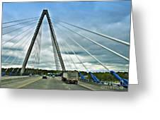 Bond Bridge In Kansas City Greeting Card