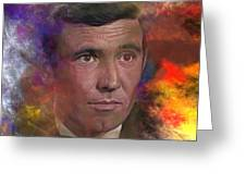 Bond - James Bond 2 - Square Version Greeting Card