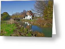Bonds Mill Area Stroudwater Canal Greeting Card