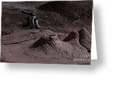 Bones At Mud Pot Area I I Greeting Card