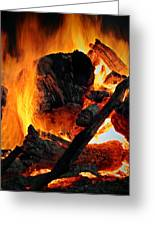 Bonfire  Greeting Card