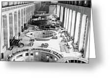 Bonneville Dam, C1935 Greeting Card