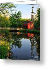 Bonneyville Mill Greeting Card
