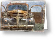 Bonnie And Clyde Greeting Card by Debra and Dave Vanderlaan