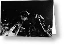 Bono 051 Greeting Card