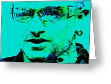 Bono Greeting Card