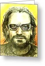 Bono - U2 Greeting Card
