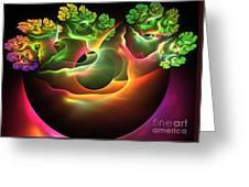 Bonsai Greeting Card by Kim Sy Ok