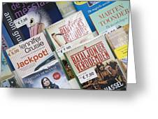 Book Fair In Steenwijk Netherlands Greeting Card