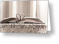 Book Heart Series 1 Greeting Card