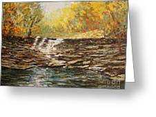 Boone County In Fall Greeting Card by Terri Maddin-Miller