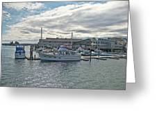 Boothbay Harbor 0231 Greeting Card
