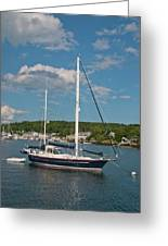 Boothbay Harbor 1390 Greeting Card