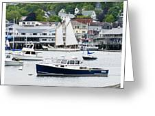 Boothbay Harbor Greeting Card