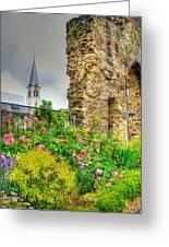 Boppard Garden Ruins Greeting Card