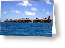 Bora Bora Lagoon Greeting Card