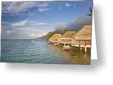 Bora Bora Rainbow Greeting Card