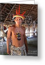 Bora Man Greeting Card