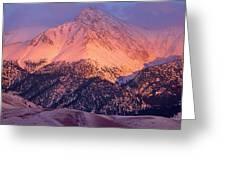 Borah Peak  Greeting Card