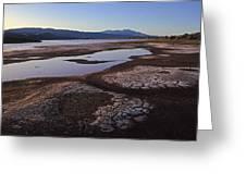 Borax Lake Greeting Card