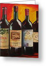 Bordeaux Greeting Card by Sheri  Chakamian