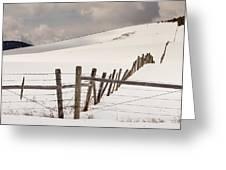 Border Line Greeting Card
