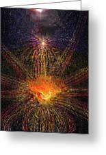 Born Of Fire Ascendance V3 Greeting Card
