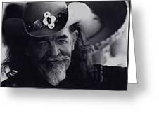 Born To The West Homage 1937 Buffalo Bill Helldorado Days Tombstone Arizona 1968-2008 Greeting Card