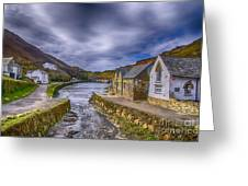 Boscastle Harbour Greeting Card