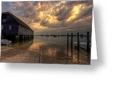 Bosham Storm Greeting Card
