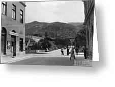 Bosnia - Sarajevo C1947 Greeting Card