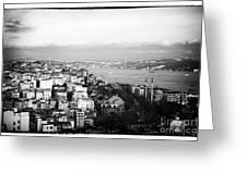 Bosphorus View Greeting Card