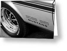 Boss 351 Mustang Greeting Card
