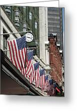 Boston 4th Of July Greeting Card