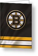 Boston Bruins Uniform Greeting Card