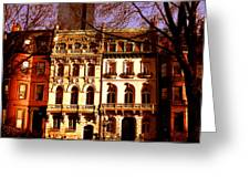 Boston Colors Three Greeting Card