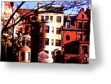 Boston Colors Two Greeting Card