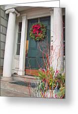 Boston Doorway Two Greeting Card
