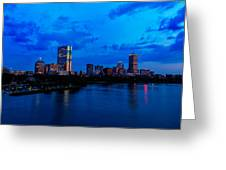 Boston Evening Greeting Card